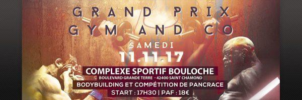 Affiche du Grand prix Gym and Co 2017