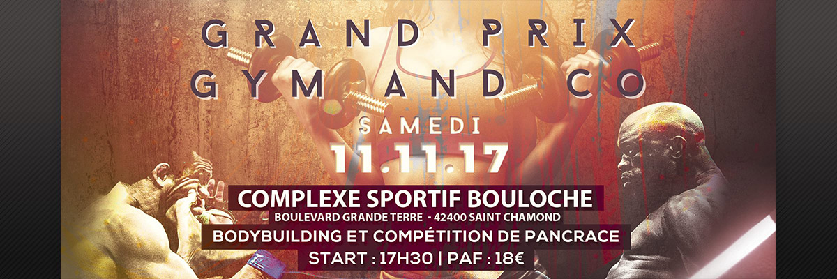 Affiche du Grand prix Gym and Co 2017